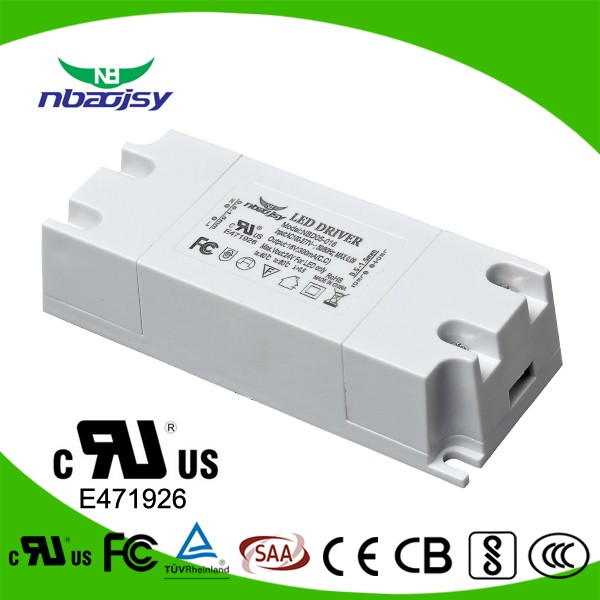 7w 36v mini led driver for panel and down lighting with UL FCC standard