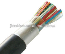 50 pair copper cable jelly filled telephone cable with 0.50mm Bare Copper Conductor