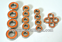 High Performance ELCON MODELS MMX CAR steel bearing kits with different rubber seal color