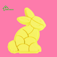 wholesales rabit shaped silicone cake mold silicone baking cake mould cake decorating molds