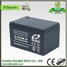 Electric car MF battery 12v rechargeable long life 9ah 6-DZM-9