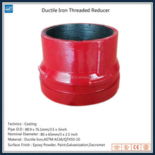 89x76 Ductile Iron Threaded Reducer