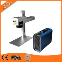 10w 10w 20w Laser Marking Machine Cell Phone color Fiber Laser Marker