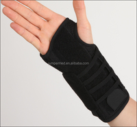 Neoprene hinge dorthopedic ce medical surgical soft wrist brace