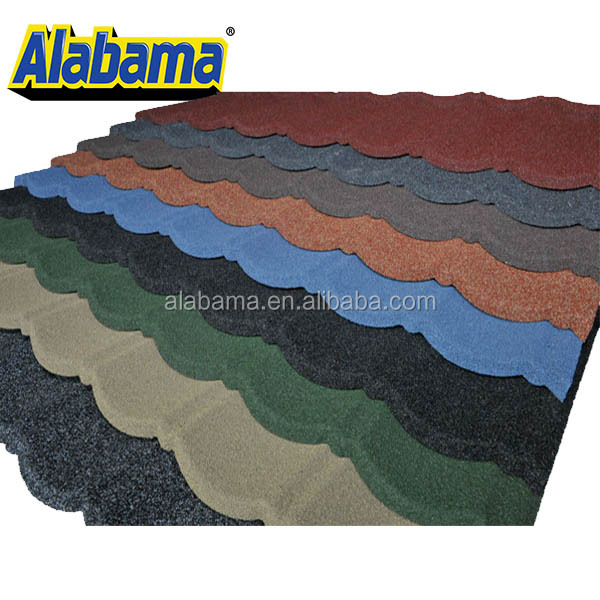 Chinese metal roofing colored roofing sheet, brown color metal roofing shingles, red color roof tile producer