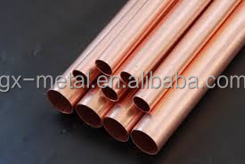 Straight Copper Pipe Type and Water Tube Application Hard drawn copper water pipes