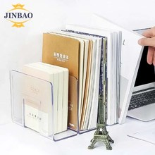 JINBAO Hottest Selling Clear Book Stand Acrylic Open Book Display Stands for Tablet