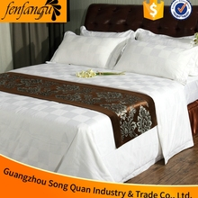 song quan new 2016 bed cover sheet Plain white flat be sheet use for hotel or hopital bed sheet