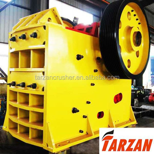 2015 hot sale jaw crusher with conveyor for building material