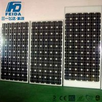 High quality strong 280W 36V Poly Solar Panel for on grid using