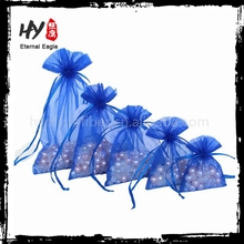 Multifunctional personalized fruit organza bags wholesale with great price