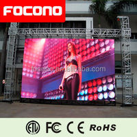 8 Years warranty Back-up Power system Commercial Outdoor LED Billboard LED Screen Video Blue Film Indonesia LED Screen