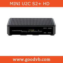 Powerful function MINI U2C hd S2 dvb with smart digital receiver