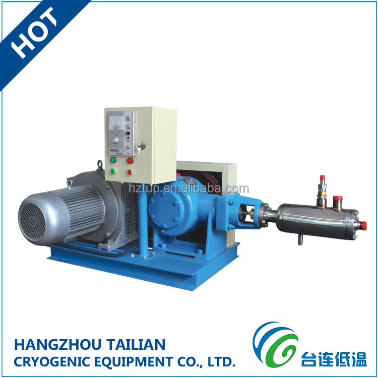 Advanced Technology liquid nitrogen container cryogenic pump