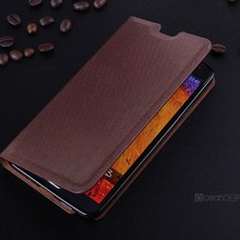 new fashion business men style leather case for note 3 N9000
