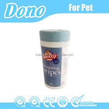 Cleaning eye wet pet wipes in bulk
