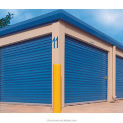 Automatic Aluminum Roll up Garage Door Interior