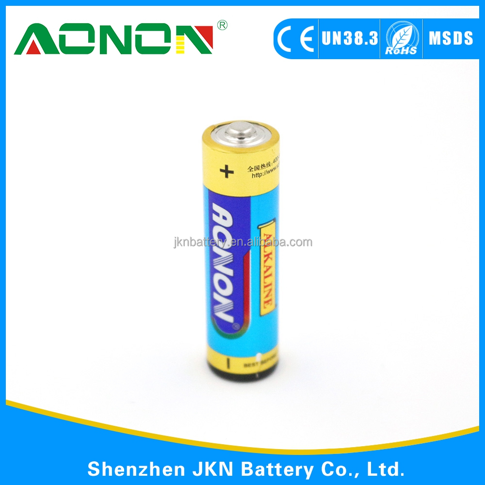 1.5V LR03/AAA/AM-4 1.5V LR03/AAA/AM-4 alkaline battery for home use