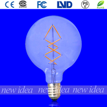 antique led bulb, UL approved global filament bulb dimmable G125 6W