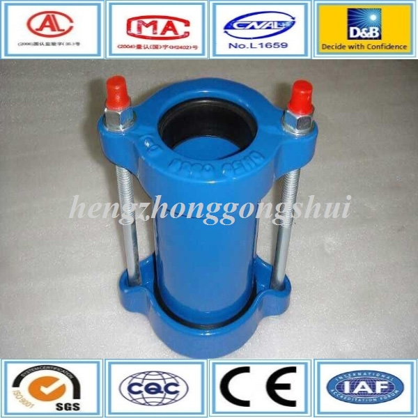 Supply Q235/sus316 PN16 flange end mechanical coupling pipe joint