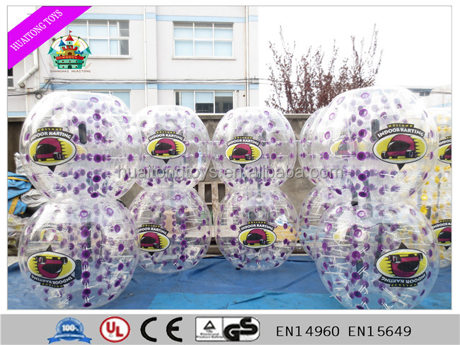 2016 Hot Sale Crazy Inflatable Bumper Ball funny game for kids and adults