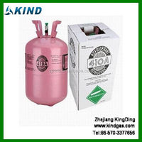 11.3kg/25lbs disposable DOT cylinder packing Mixed R410a Refrigerant Gas with good price