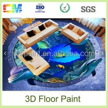 Alibaba china hot sale home decoration epoxy 3d floor paints coatings made in china