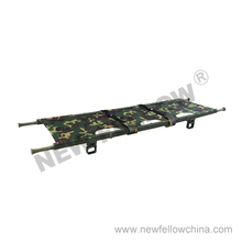 NF-F19 Camouflage Color Four Folded Stretcher For Army
