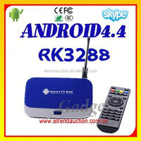 2015 french Channels Google Android 4.4 TV Box RK3288 Smart TV Box