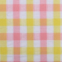 stock cotton check poplin shirt fabric