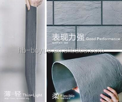 new building materials high bonding strength thin ceramic exterior 300x900 wall tile