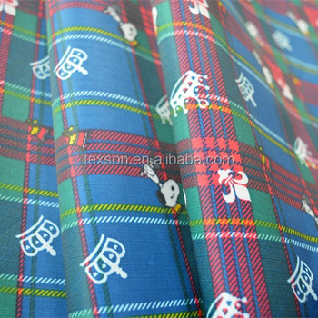210D PVC coated polyester oxford fabric cartoon printed fabric ripstop fabric