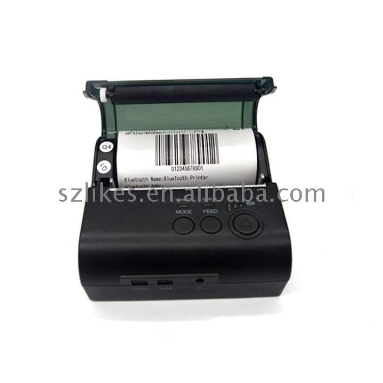 LKS-P80M Mini portable wireless non wire thermal receipt printer