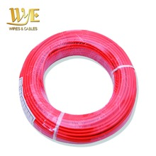 UL 3122 24 AWG silicone rubber fiberglass braid lead wire