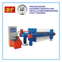 Multi-plate screw filter press/sludge dewatering machine for palm oil waste water treatment