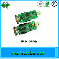 FR4 pcb turnkey oem flash drive usb pcba