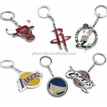 New BASKETBALL TEAM LOGO Metal KEY CHAINS KEY RINGS GIFTS Attractive Fancy