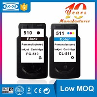Excellent supplies you should never miss printer ink cartridge compatible for canon PG-510 CL-511