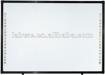 Hot selling multi touch interactive whiteboard with max 64 touch points for e-classes