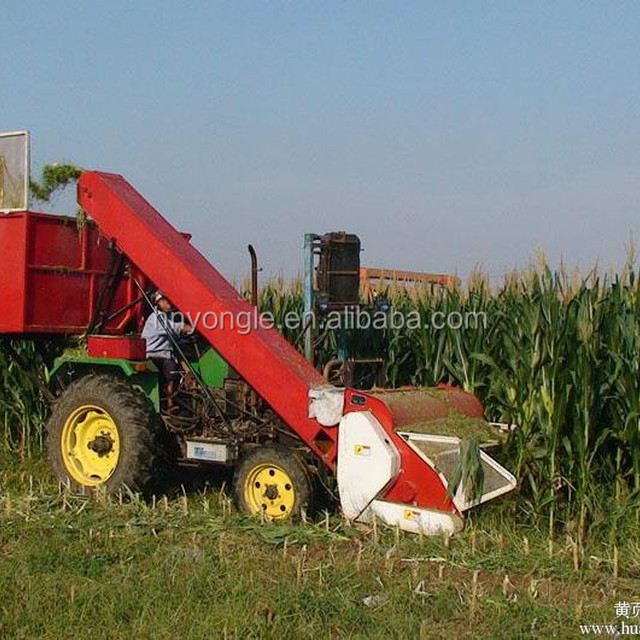 China top supplier corn maize combine harvester machine /automatic agricultural machinery