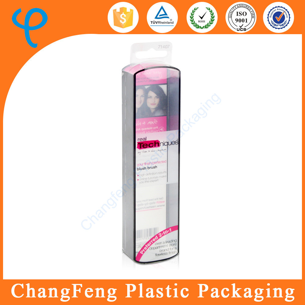 Clear Plastic Tube Packaging for Cooler