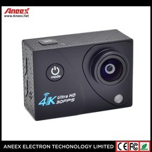2017 New Best Selling Products 4K HD WIFI Action Camera Dual Screen Waterproof sport camera for outdoor