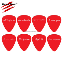 Guitar Pick Pendant Promotional Gift Wedding Necklace Designs