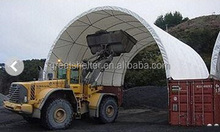 cheap warehouse canopy, metal frame covered with fabric