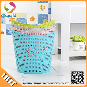 new popular wholesale custom plastic laundry basket