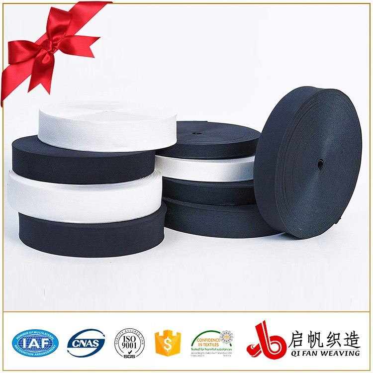 Unbreakable Wide Woven Elastic Tape Elastic Silicone Rubber Band