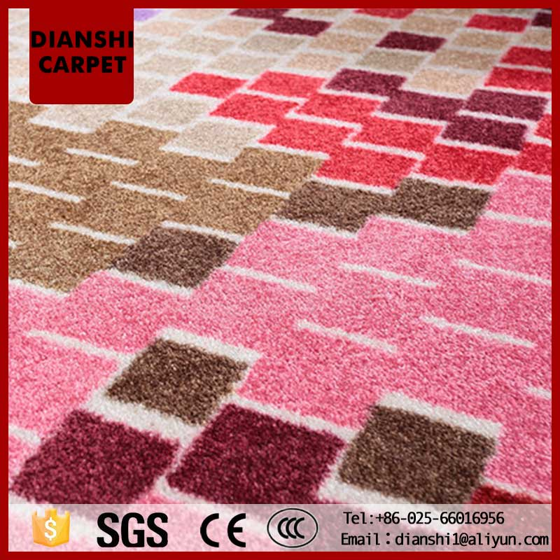 Future Abstraction Acrylic Floor Carpet Rug From China Carpet Factory
