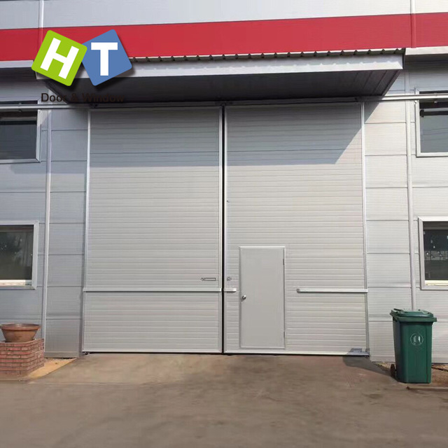 cheap industrial sliding doors for factory