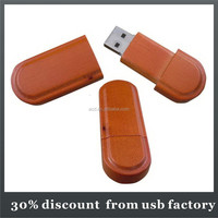 promotional shenzhen factory make bulk 32GB wooden usb flash drives