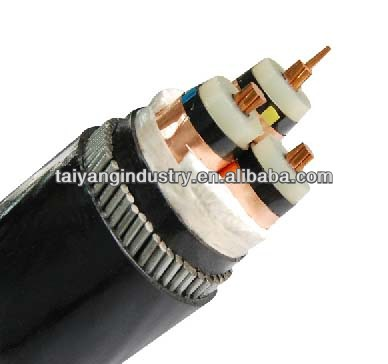 Medium Voltage xlpe insulated lead sheath power cable